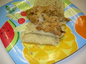 Parmesan Encrusted Fish